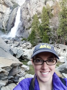 Selfie at Lower Yosemite Falls