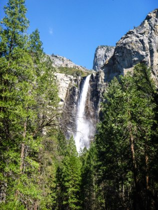 """The snow is melting into music."" -John Muir Bridalveil Fall"