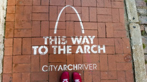 This way to the Arch