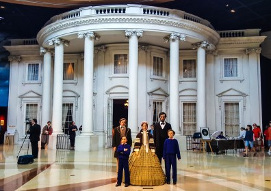 The Lincoln family at the White House