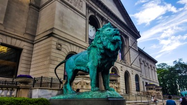 Lions at the Art Institute