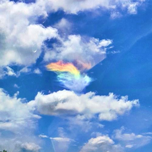 Cloud iridescence