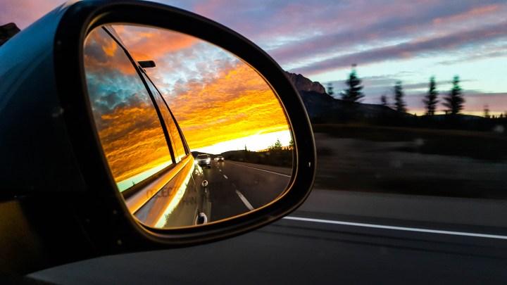Banff Mirror Sunrise