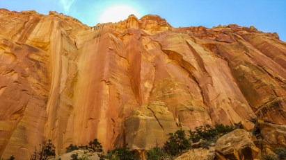 Grand Wash Scenic Drive, Capitol Reef National Park