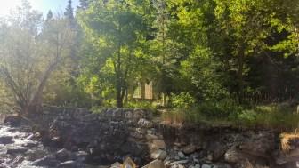Ruins along Little Cottonwood Creek Trail