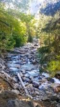Another creek crossing along Little Cottonwood Creek Trail