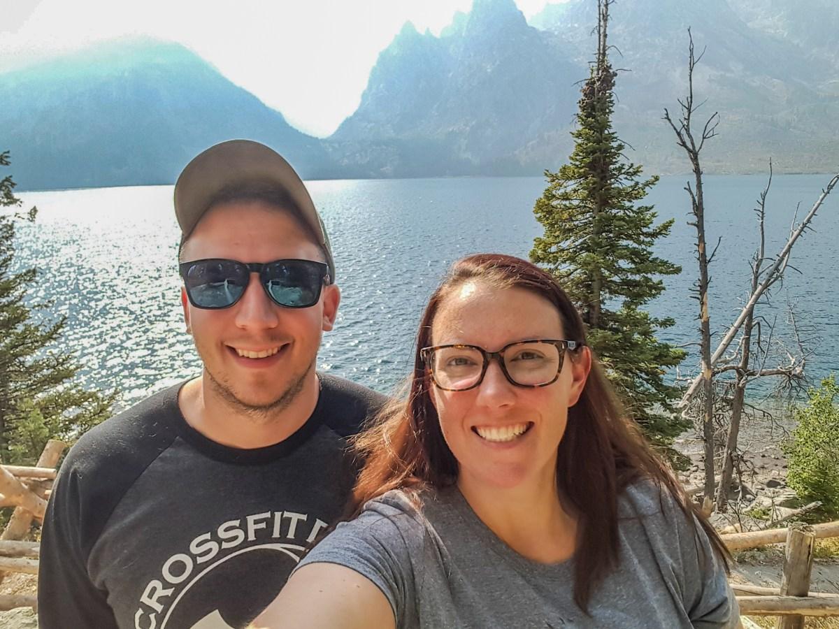 Cascade Canyon selfie