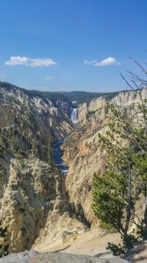 View from Artist Point, Yellowstone National Park