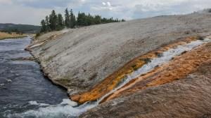Firehole River and Excelsior Geyser Basin runoff