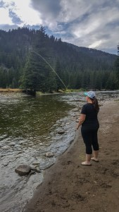 Learning to fly fish on the Gallatin