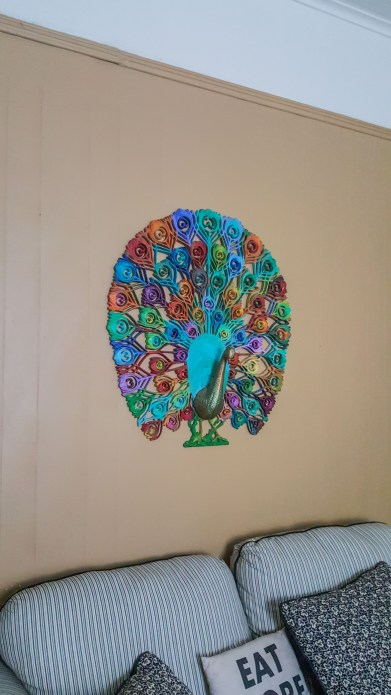 Airbnb Peacock!