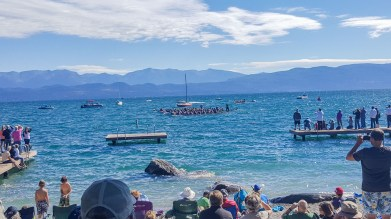 Beautiful day at Flathead Lake