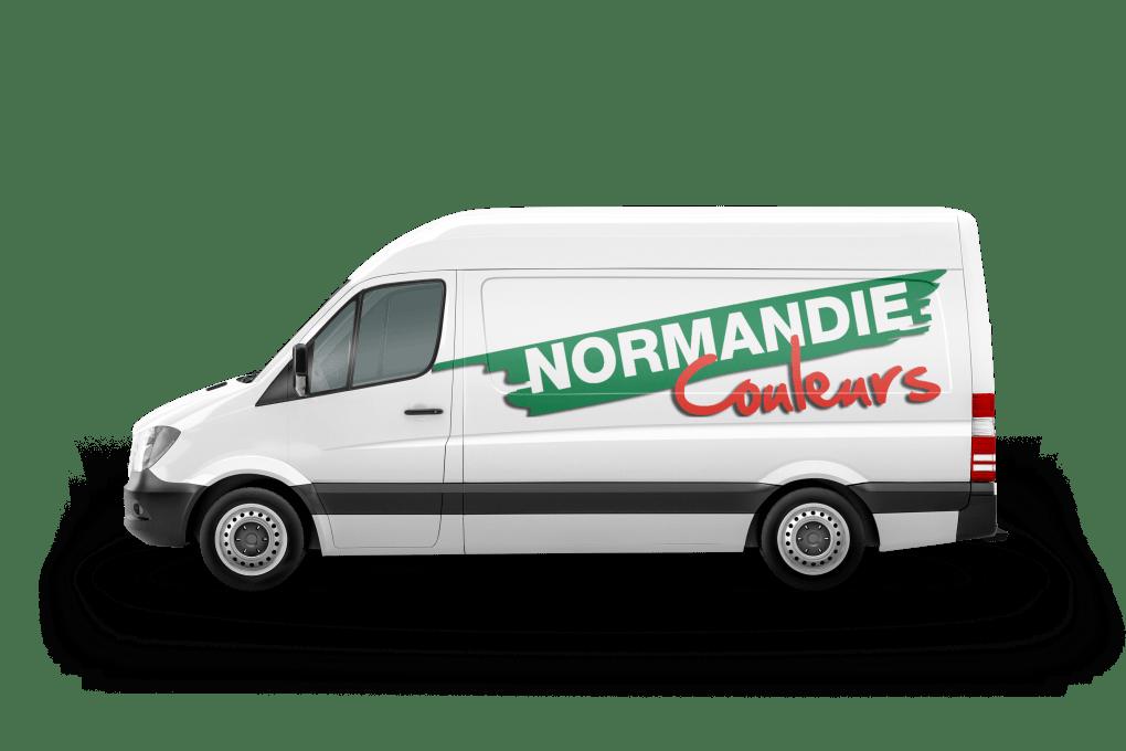 Livraison de peinture professionnel Normandie Couleurs