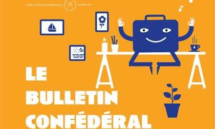 Le Bulletin confédéral n°35 de la CFE-CGC