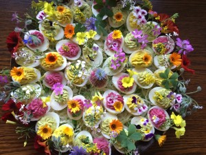 flower garnishes