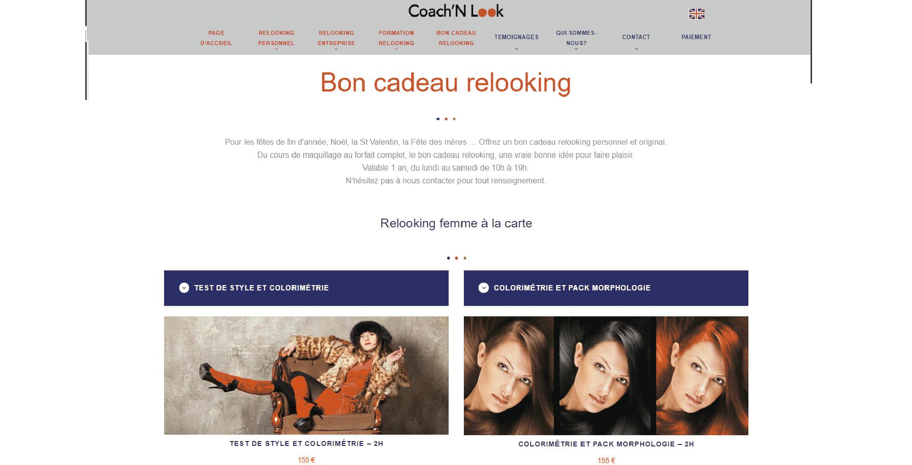 site relooking image coach n look paris