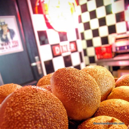 Le Fiftys American Diner Au Havre Restaurant Burger