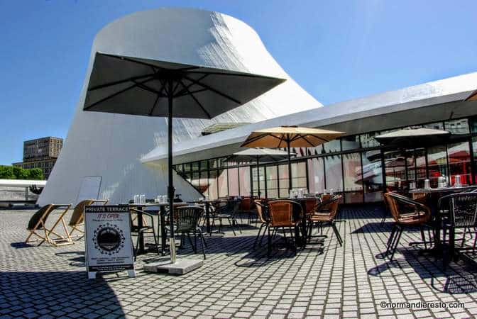La Colombe Niemeyer Restaurant Au Volcan Au Havre