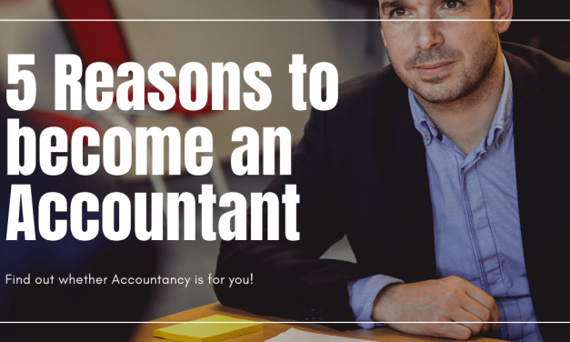 Top 5 Reasons to Become an Accountant