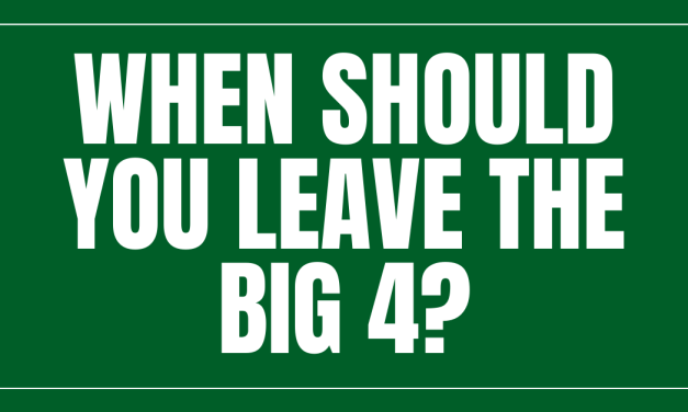When is The Right Time To Leave Big 4 Accounting Behind?