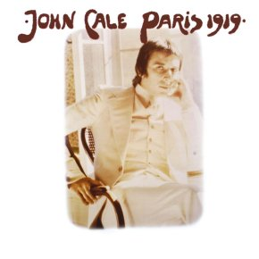 Cover of John Cale album Paris 1919