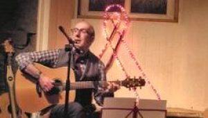 Norman Lamont performing at The Village, Leith, Edinburgh