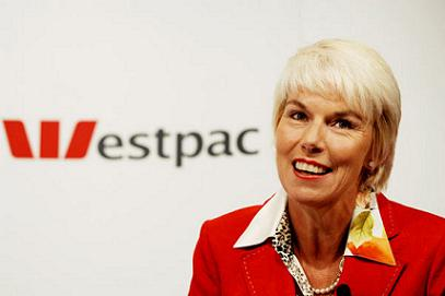 Gail Kelly of Westpac may be the only one from Australia on the list, but she ranks #2, just like last year.