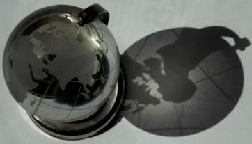 earth shadowed