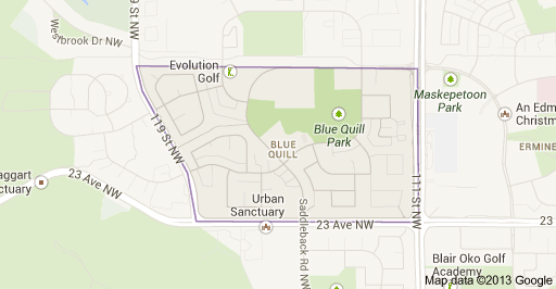 Blue Quill Edmonton Homes For Sale