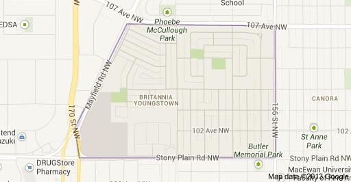 Britannia Youngstown Edmonton Homes For Sale