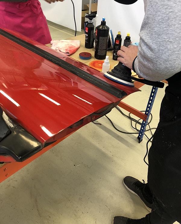 polerkurs rupes Bigfoot polishing system