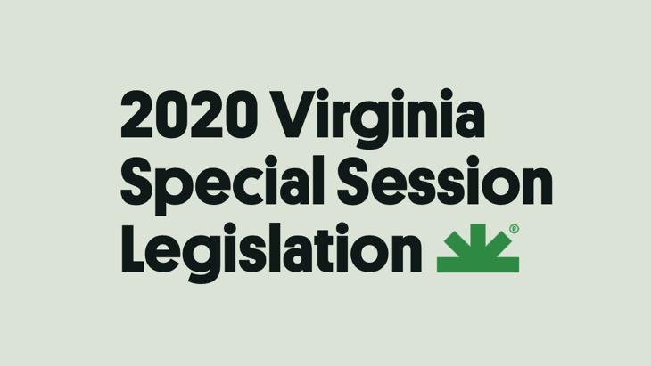2020 Virginia Special Session