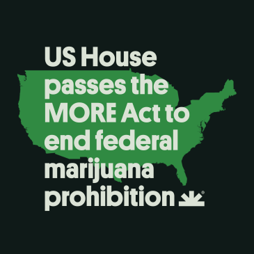 US House votes to end federal marijuana prohibition
