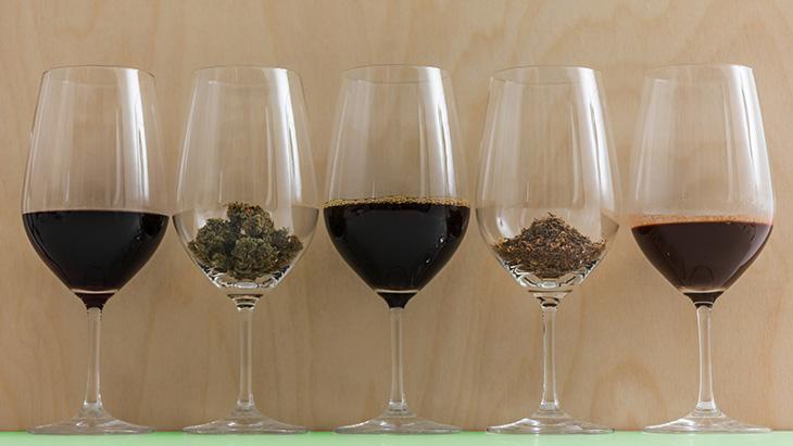Marijuana and Wine