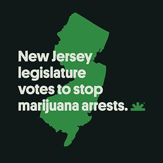 New Jersey Legislature Votes to Stop Marijuana Arrests