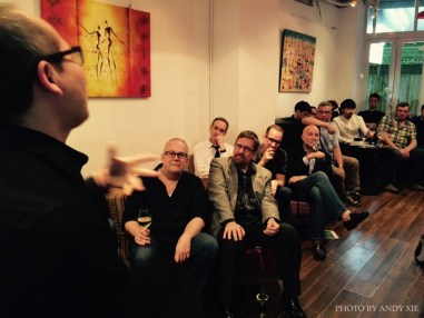 Event photos from the recent talk at Tongzhi Literary Group in Hong Kong on March 19, 2015. Photo courtesy of Andy Xie.