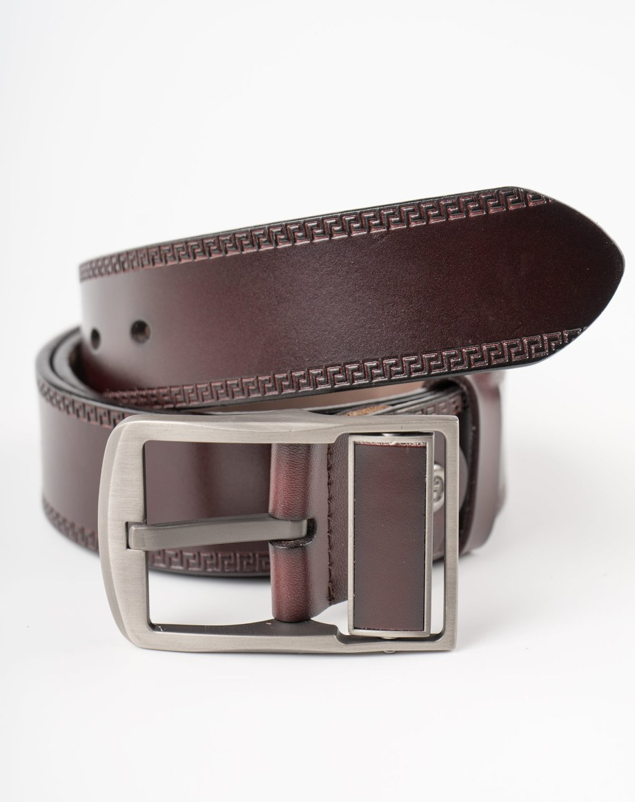 Image 2 of Mens Leather Belt of color Coffee from Noroze