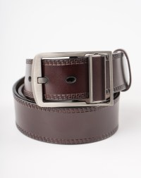 Image 3 of Mens Leather Belt of color Coffee from Noroze