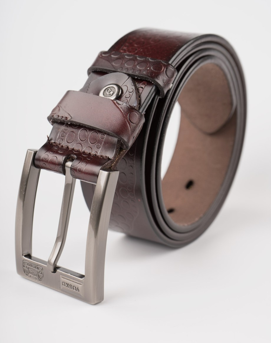 Image 1 of Mens Leather Belts of color Coffee from Noroze Brand