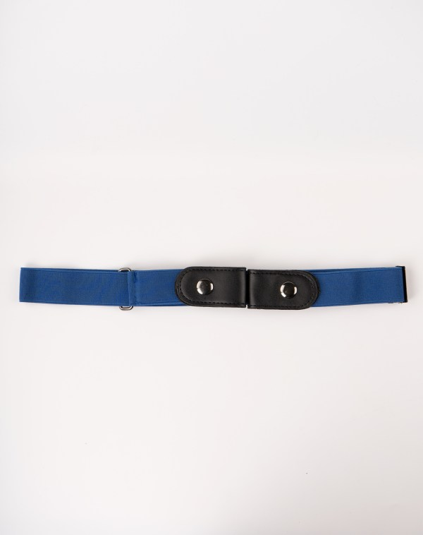 Image 1 of Womens No Buckle Belt of color Navy from Noroze