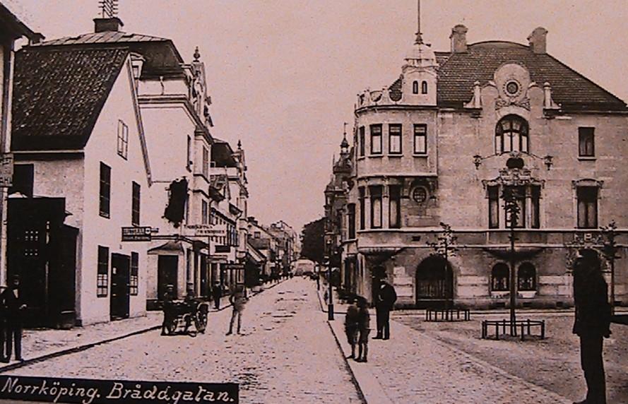 Norrköpings gator och dess uppkomst (3/6)