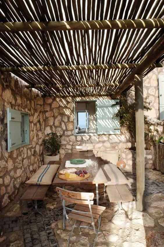 Peque os porches para casas de campo nort design by - Porches de casas de campo ...