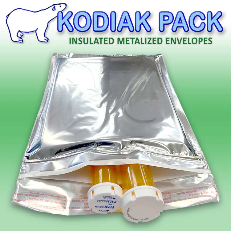 Kodiak Pack Insulated Metalized Envelopes