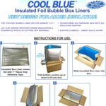 Cool Blue Insulated Box Liner Instructions