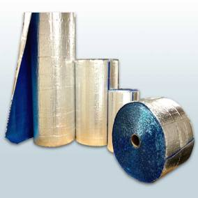 Cool Blue Foil Bubble Roll - Different Sizes