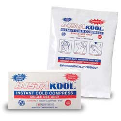 "InstaKool Instant Ice Pack, Size: 5"" x 6"" - Boxed"
