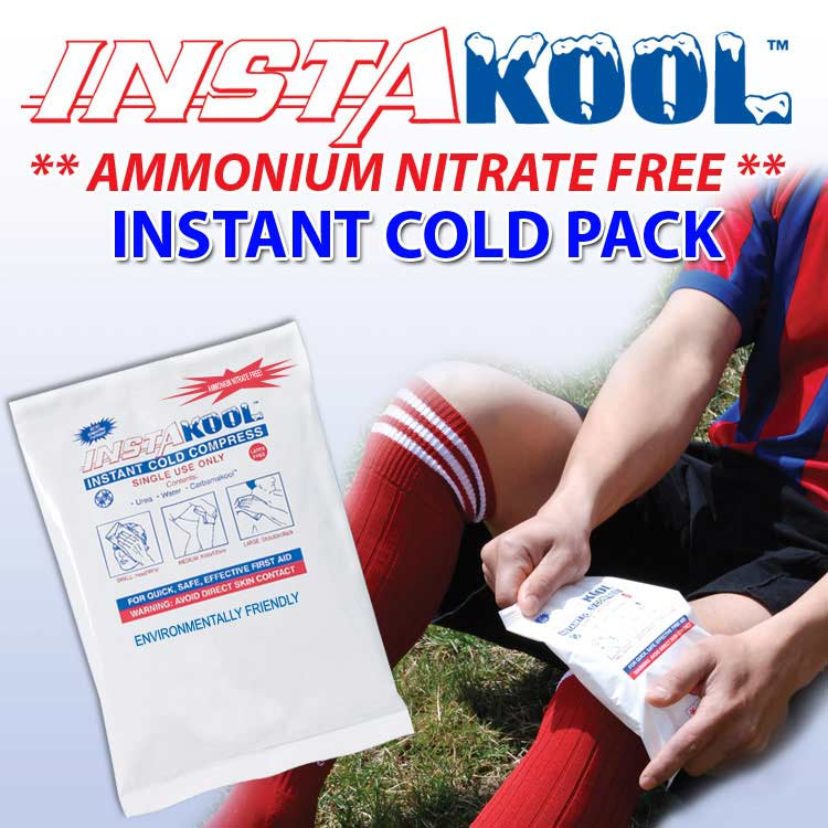 InstaKool Instant Cold Ice Packs