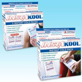InstaKool Instant Cold Pack Retail Boxes