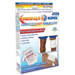 "Therma-Kool Reusable Hot Cold Pack with Freedom Wrap, 6"" x 10"""