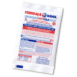 "ThermaKool Reusable Hot Cold Pack, Size: 4"" x 6"""
